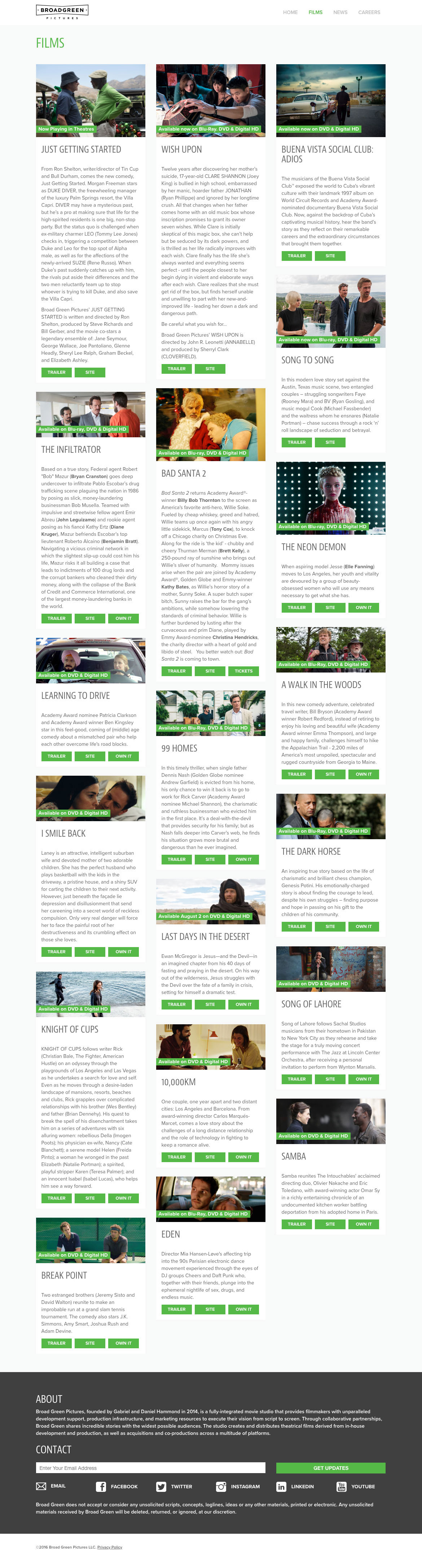 Broad Green Pictures Site